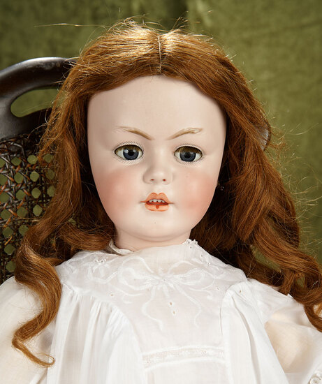 "31"" German bisque child doll, 1279, by Simon and Halbig, great dimples! $800/1000"