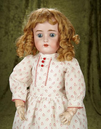 """25"""" Pretty German bisque child by Kammer and Reinhardt. $400/500"""