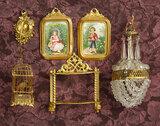 German Ormolu Miniature Accessories by Erhard & Sohne 500/800