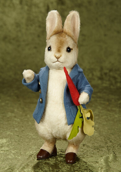 "13"" American ""Peter Rabbit"" by R. John Wright, mint in box. $500/700"