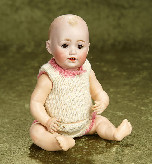 "11"" German bisque character by Kestner known as ""Baby Jean"" $400/500"