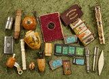 Lot of various antique sewing ephemera. $500/700