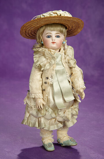 Precious French Bisque Bebe, 5/0, by Rabery and Delphieu in Diminutive Size 3200/3800