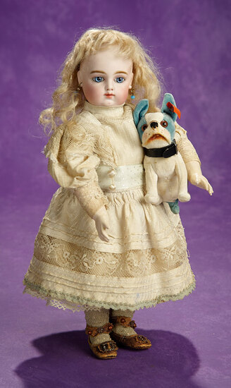 Beautiful French Bisque Bebe, 3/0, by Rabery and Delphieu with Splendid Eyes 3200/3800