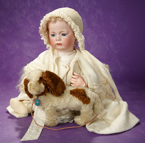 """German Bisque Character, Model """"119 Baby"""" by Kammer and Reinhardt 1800/2500"""