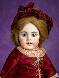German Bisque Child with Rare Square-Cut Teeth, 929, by Simon and Halbig 1100/1300