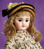 German Bisque Closed Mouth Child, 949, by Simon and Halbig 700/900