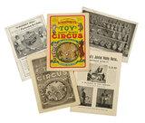 Five Antique Trade Catalogs from Schoenhut 300/400