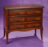 English Sheraton Chest of Drawers with Inlay Marquetry 500/700