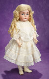 German Bisque Flirty-Eyed Girl by Kammer and Reinhardt, Wig and Costume 700/1000