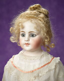 Early German Bisque Closed Mouth Doll, Model 920, by Simon and Halbig 1100/1300