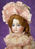 German Blue-Eyed Closed Mouth Doll by Kestner 1200/1500