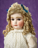 Rare German Bisque Closed Mouth Doll Known as