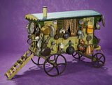 Wonderful and Very Rare Early Peddler's Caravan with Wares 3200/4500