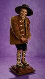 Neopolitan Village Man in Grand Size with Original Costume and Leggings 2200/2800
