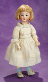 Rare German Bisque Flapper Girl, Model 117X, by Kammer and Reinhardt 1100/1400