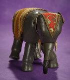 American Wooden Glass-Eyed Elephant by Schoenhut 300/400