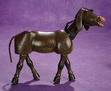 American Wooden Glass-eyed Donkey by Schoenhut 300/500