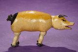 American Wooden Glass-Eyed Pig by Schoenhut 300/400
