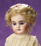 Petite German Bisque Closed Mouth Child, Model 949, by Simon and Halbig 600/800