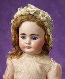 German Bisque Closed Mouth Child Doll, Model 719, by Simon and Halbig 1100/1800
