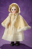 German Bisque Doll with Closed Mouth by Kestner 900/1100
