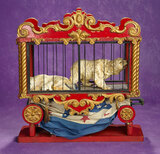 American Mechanical Carved Circus Parade Wagon in the Schoenhut Manner 900/1300