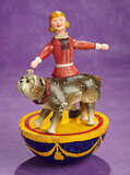 American Half-Rolly-Dolly Set of Buster Brown and Tige by Schoenhut 2800/3500