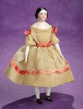 German Porcelain Dollhouse Doll in Original Costume 300/400