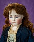 French Bisque Portrait Poupee by Pierre-Francois Jumeau 3200/3800