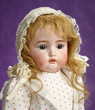 German Bisque Child Doll, 1299, by Simon and Halbig with Wonderful Dimples 700/900