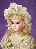 French Bisque Bebe by Emile Jumeau with Original Costume and Box 2600/3200
