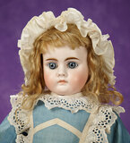 Sonneberg Bisque Closed Mouth Doll, Model 208, by Bahr and Proschild 700/900