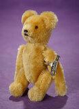 German Mohair Tumbling Mechanical Teddy by Schuco 400/500