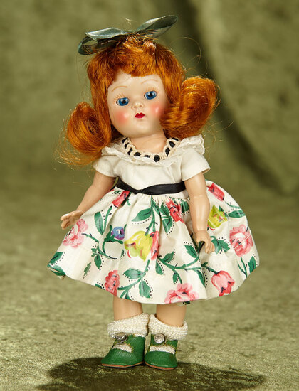 "8"" Red-Haired Painted Lash Ginny as ""Linda"" from Kindergarten Series,1953. $400/500"