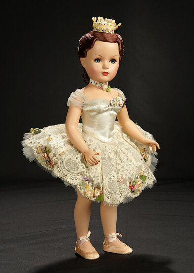 "Splendid Very Rare ""Ballet Des Fleurs"" Portrait Doll from the Mystery Series of 1951 8000/11,000"