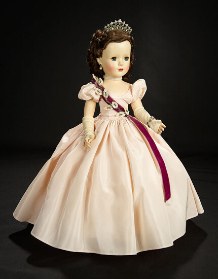 Lovely Princess Margaret Rose from the Beaux Arts Creations, 1953 1200/1500