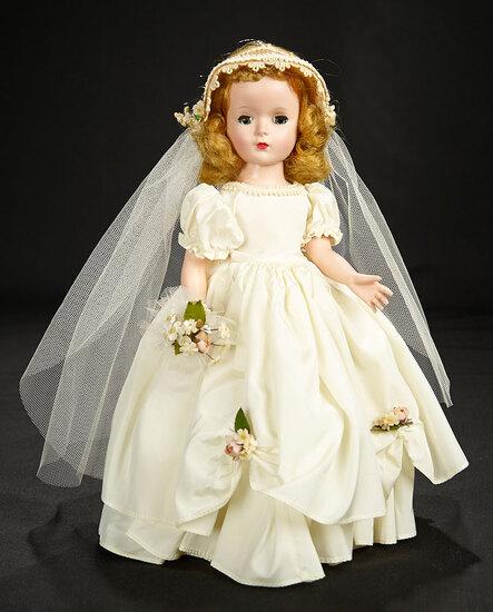 Wendy Bride in White Taffeta, 1953 400/500