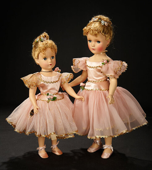 "Petite ""Nina Ballerina"" in Pink Satin Tutu, 1949 700/900"