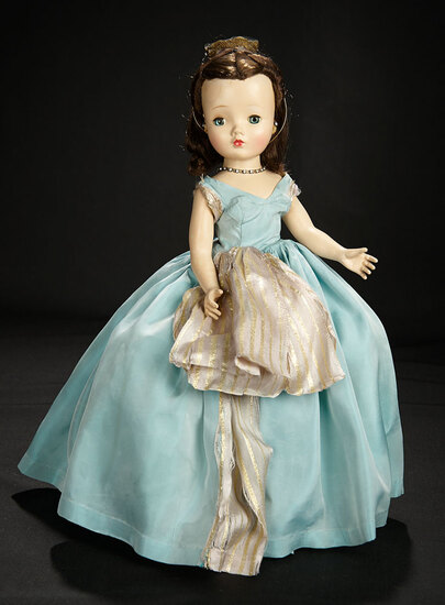 """Lady in """"Blue Danube Waltz"""" Costume from """"Me and My Shadow Series"""", 1954 900/1100"""