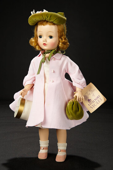 """""""Sweet Violet"""" in Pink Costume with Accessories, 1954 900/1100"""