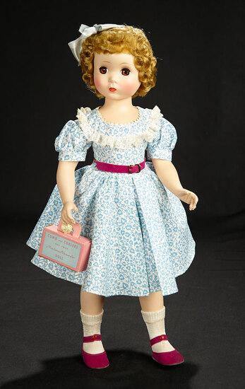 "Maggie Walker ""Dressed So Becoming"" in Blue Embossed Dress, Award Medallion, 1953 600/800"