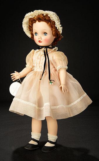 """""""Winsome Winnie Walker"""" in Pink Organdy Dress, 1953 600/800"""