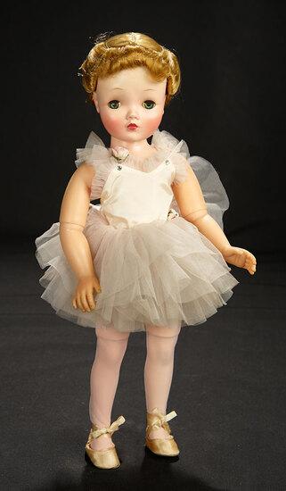 Margot Ballerina with Rare Binnie-Face in Pink Tutu, 1956 600/800