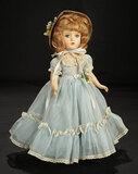 Wendy-Ann in Sheer Blue Nylon Gown, 1950 300/400