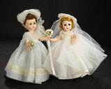 Lissy Bridesmaid in Pale Blue Ensemble, 1957 300/500