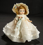 Wendy-Kins in White Organdy Gown, 1955 300/500