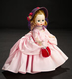 Wendy-Kins in Pink Taffeta Gown and Purple Bonnet, 1957 400/500
