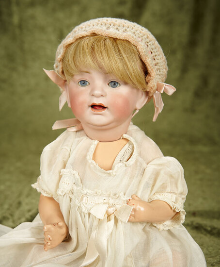 "14"" German bisque 226 character baby by Kestner, excellent bisque"