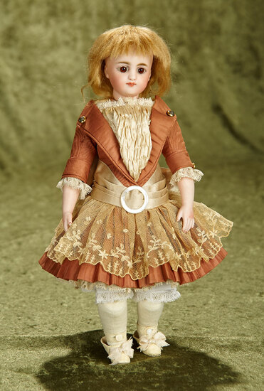 """12"""" Petite German closed mouth doll, model 905, by Simon and Halbig. $500/700"""